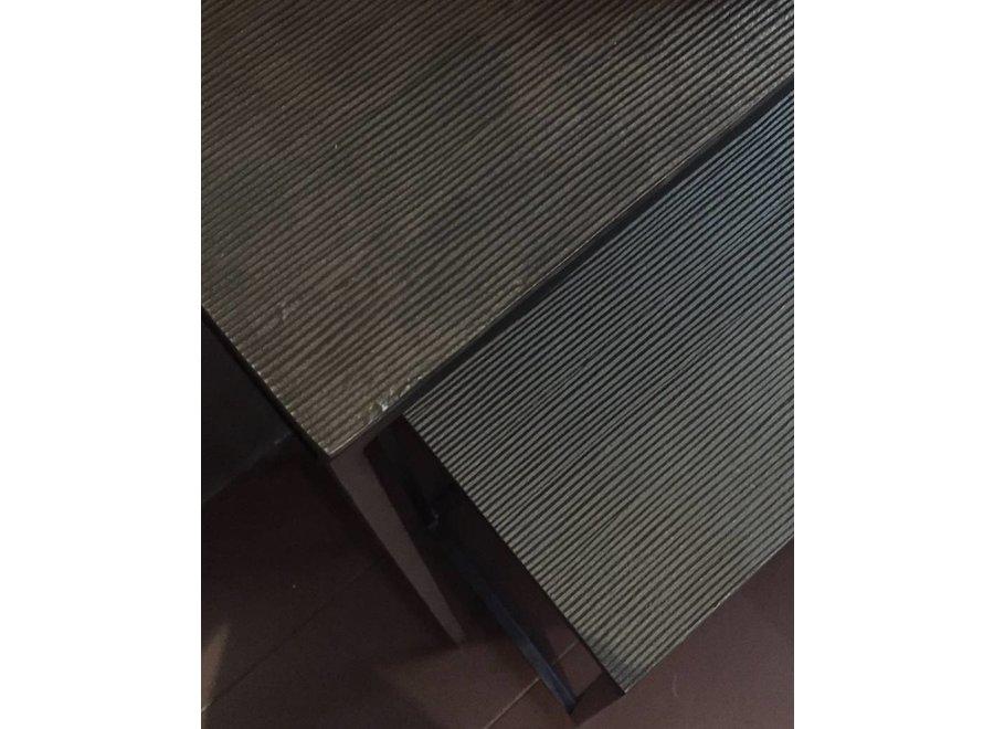 Console tafel Giza - Bronze