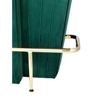 Bar 'Bolton' met een groene fluwelen bekleding