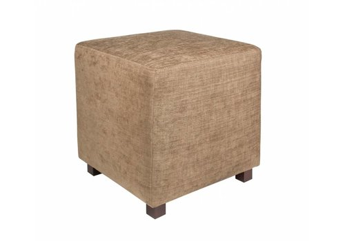Dome Deco Square stool 'Sand'