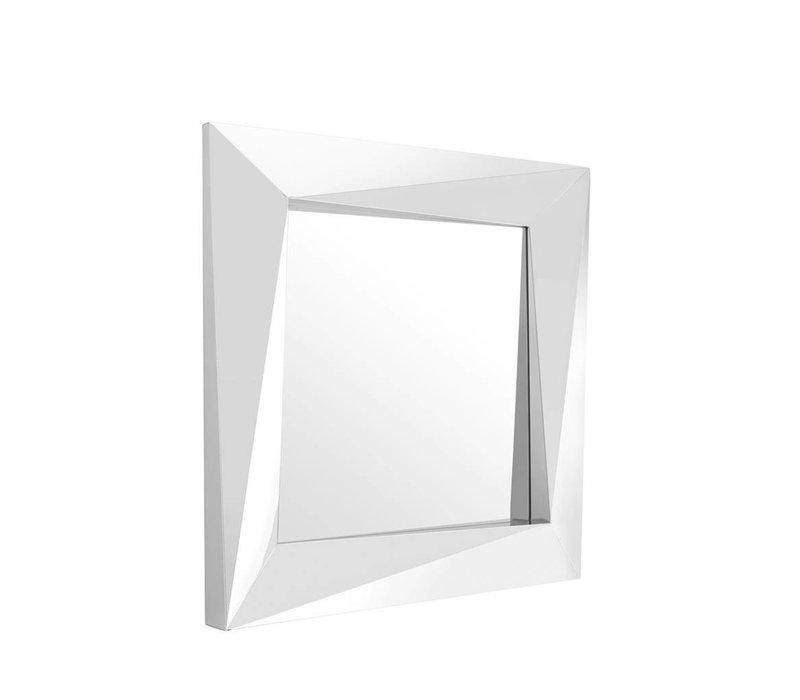 Square wall mirror 'Rivoli' 100x100x D 9 cm