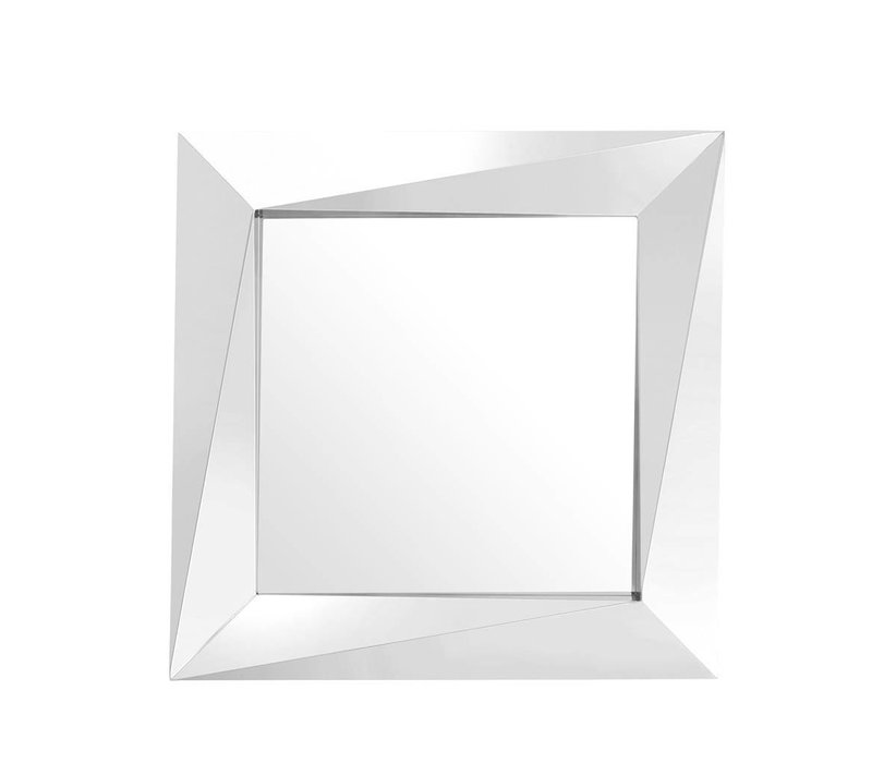 Quadratische Spiegel 'Rivoli' 100x100x D 9 cm