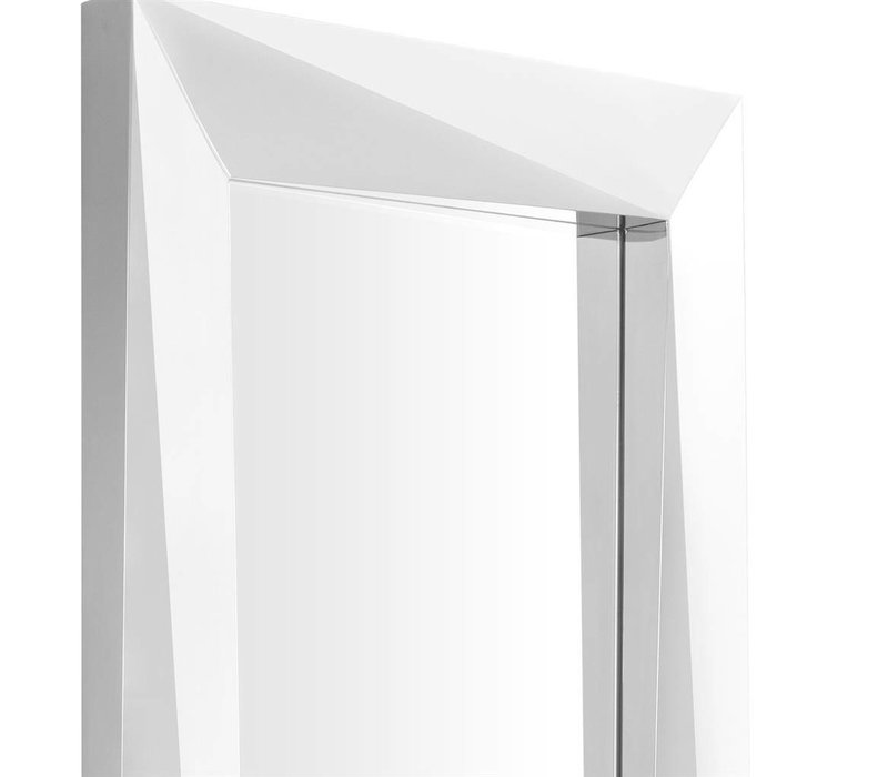 Elongated wall mirror 'Rivoli' 80x220x D 9 cm