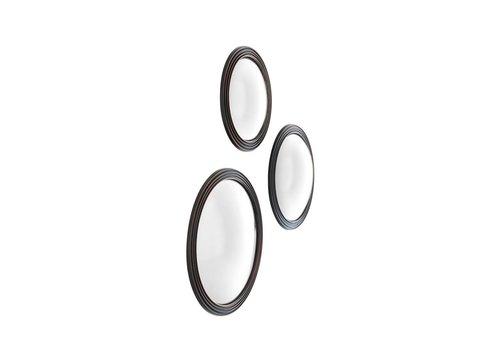 EICHHOLTZ Ronde design spiegel - Convex spiegel 'Gladstone'  3 stuks