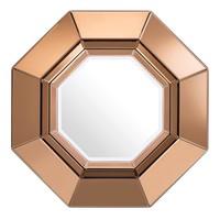 Amber design spiegel 'Chartier' 68x68 D. 7,5cm