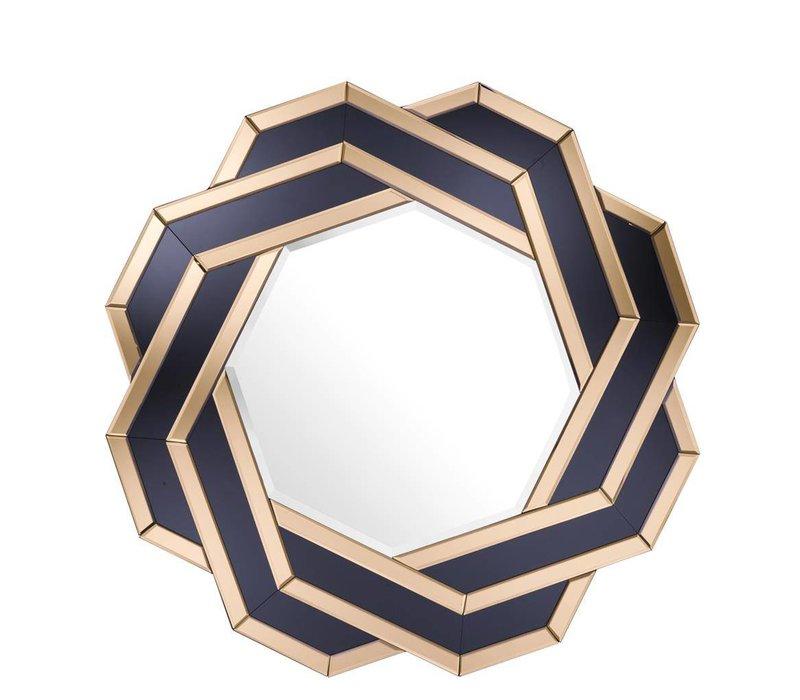 Amber/ Black mirror 'Mulini'