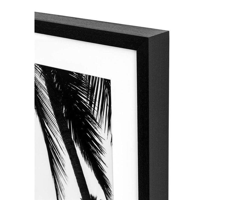 Print Vogue '1961' in zwarte houten lijst