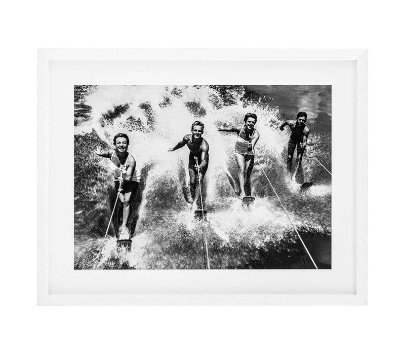 Print Water Ski Splash