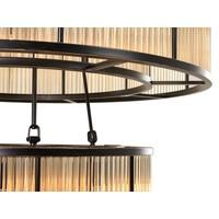 Chandelier 'Bernardi' with a bronze 'vintage finish'