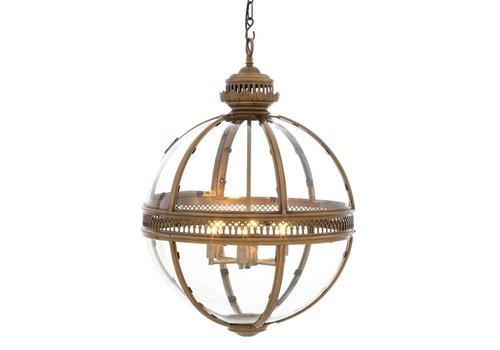 EICHHOLTZ Hanging lamp Residential L brass