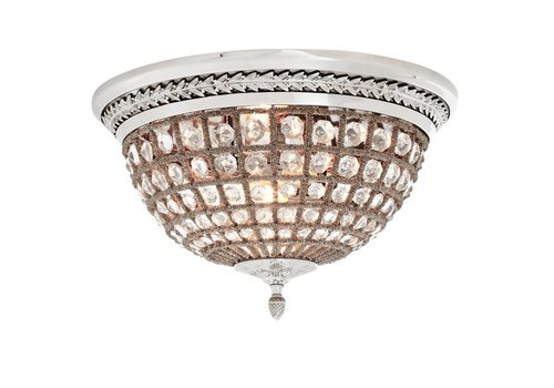 EICHHOLTZ Plafondlamp 'Kasbah'  Nikkel