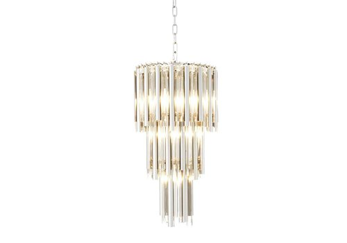 Eichholtz Chandelier Gigi S nickel 'finish'
