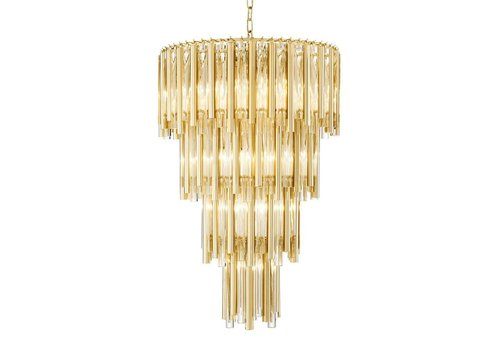 Eichholtz Chandelier Gigi L mit gold 'finish'