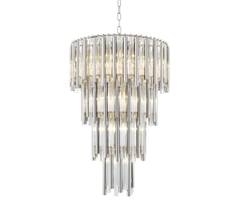 Chandelier Gigi L nikkel 'finish