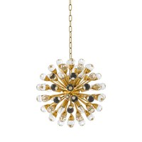 Hanging lamp 'Chandelier Antares S' gold