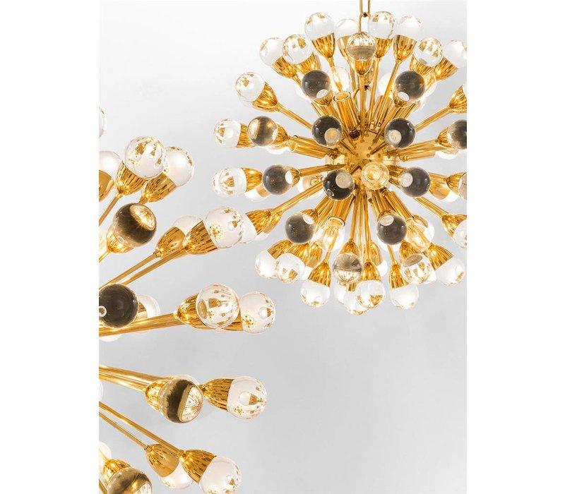 Hängelampe 'Chandelier Antares S' gold