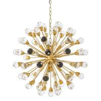 Hanging lamp 'Antares L' gold