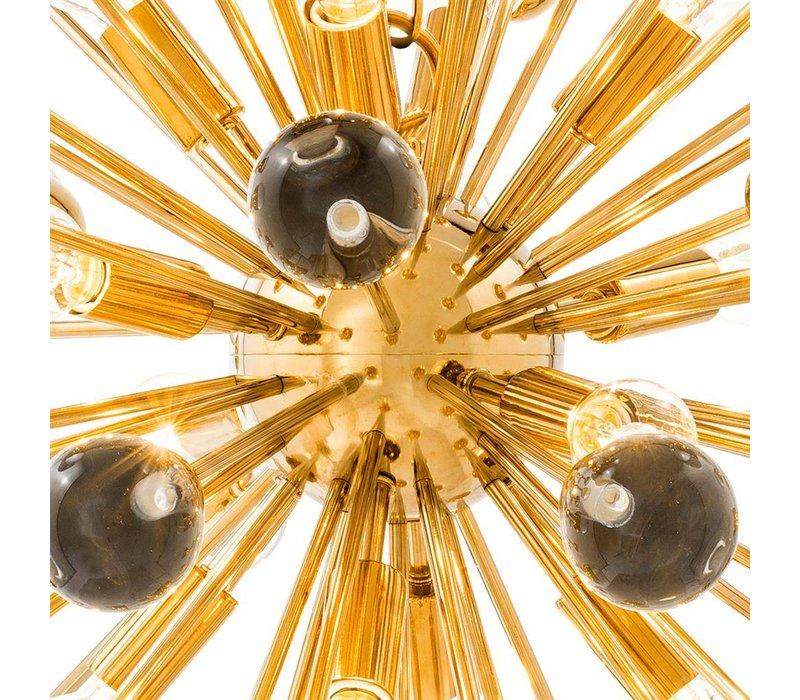 Hängelampe 'Antares L' gold