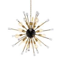 Hanging lamp 'Chandelier Tivoli S' brass