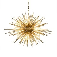 Chandelier 'Boivin' - Brass
