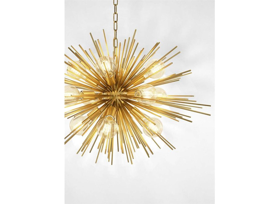 Chandelier 'Boivin' - Messing