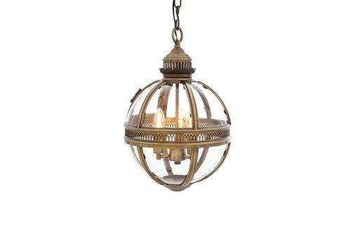 EICHHOLTZ Hanging lamp Residential S brass