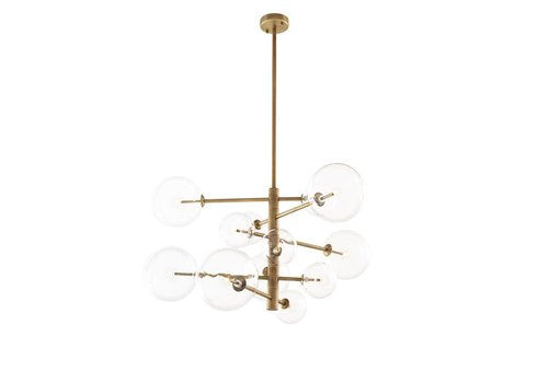 Eichholtz Chandelier Argento S - antique brass