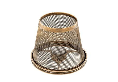 EICHHOLTZ Colindale candlestick shade - vintage brass