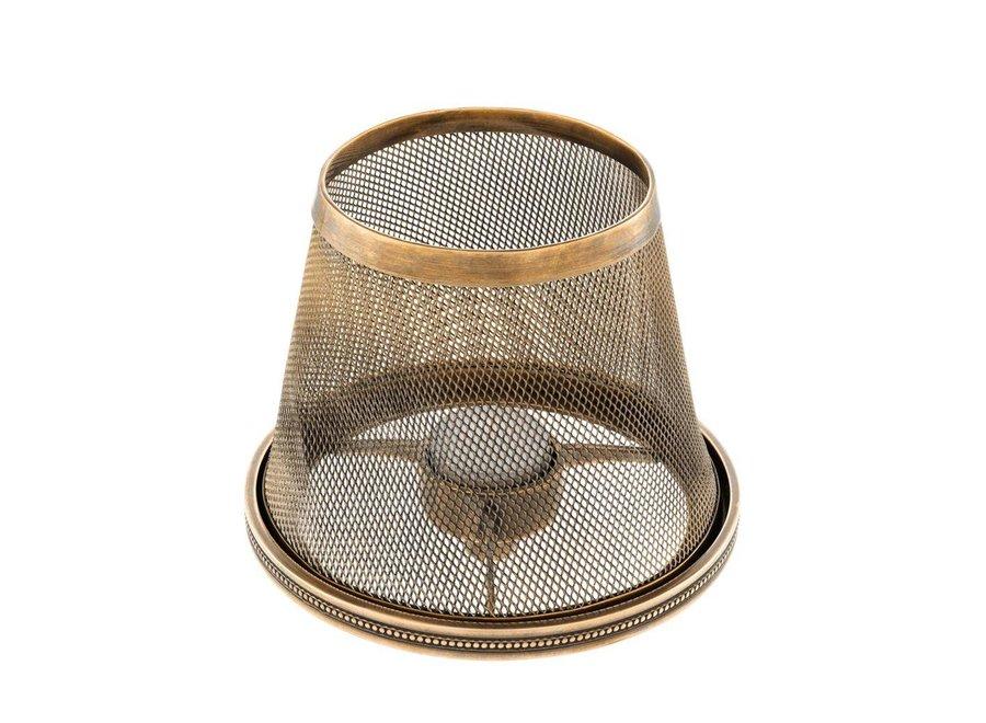 Candle holder Shade Colindale - vintage brass