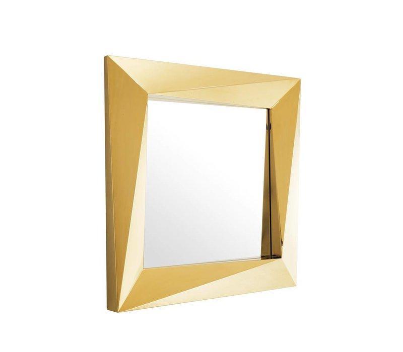 Vierkante spiegel  'Rivoli' 100x100x D 9 cm