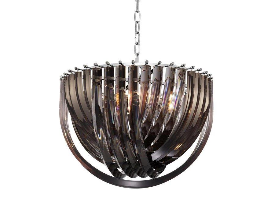 Hanglamp 'Murano L' Smoked