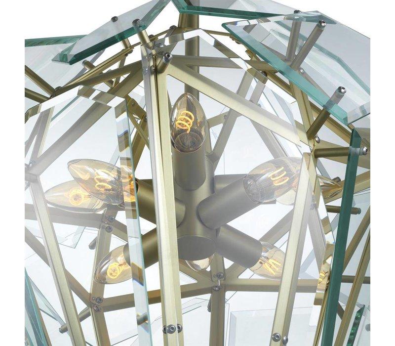 Lamp 'Chandelier Shard gold'