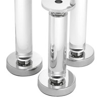 'Chapman set of 3' candlesticks