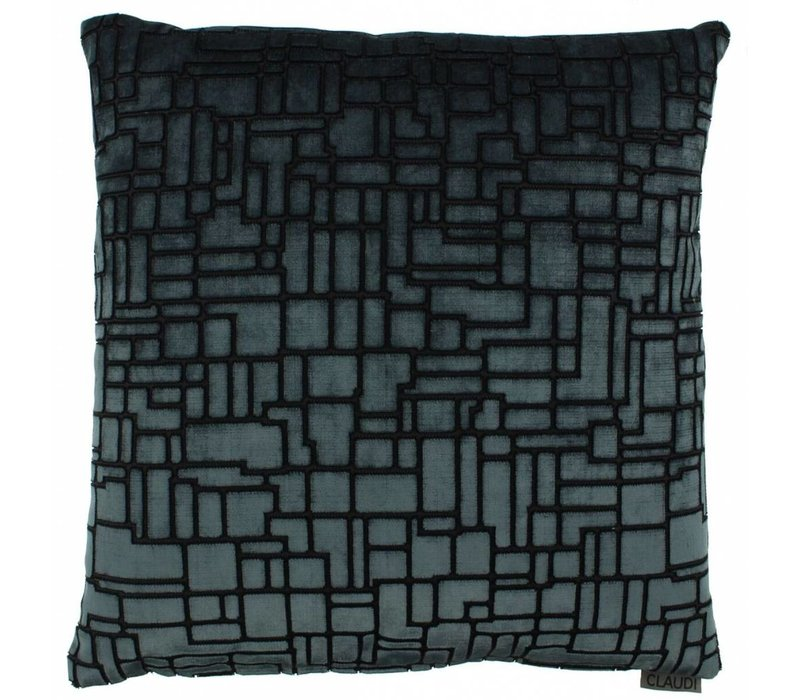 Throw pillow Stansie Color Petrol