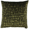 CLAUDI Throw pillow Stansie Color Green
