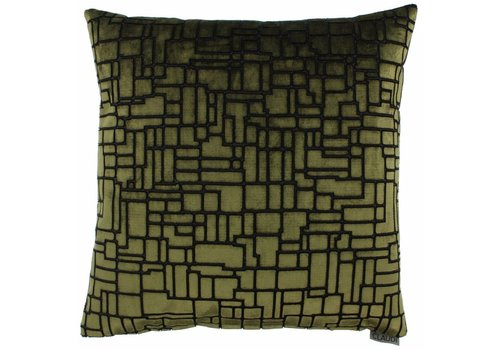 CLAUDI Chique Throw pillow Stansie Green