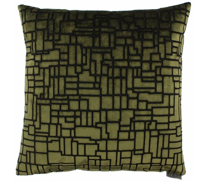 Throw pillow Stansie Color Green