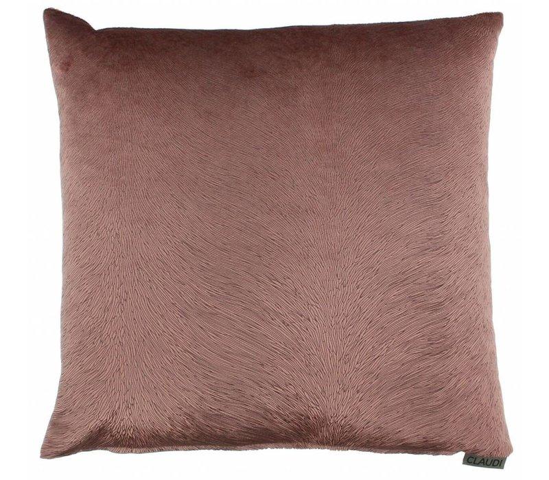Cushion Perla color Ash Rose