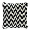 EICHHOLTZ Decorative cushion Chevron color black 60x60 cm
