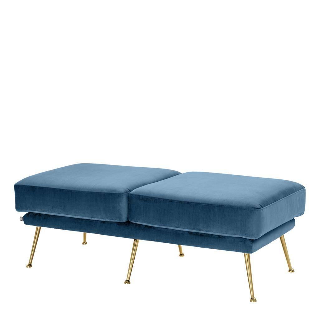 Betere Hocker 'Tahoe' Blauw - Wilhelmina Designs IY-32