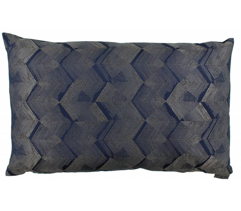 Cushion Timo in color Denim