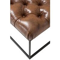 Hocker 'York' Tobacco leather 190 cm