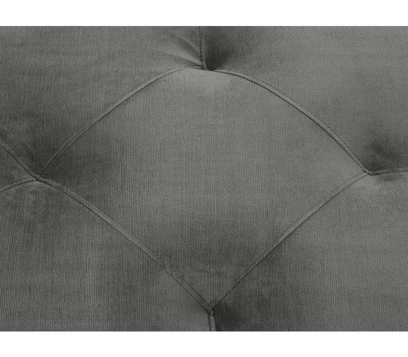 Hocker 'Cesare'  Granite Grey 125 cm