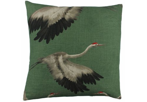 CLAUDI Cushion Aza Green