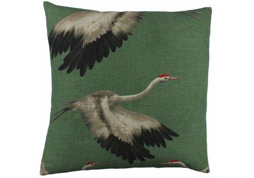 CLAUDI Design Cushion Aza Green