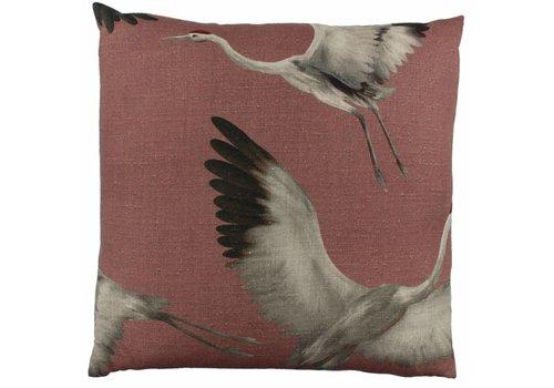 CLAUDI Design Cushion Aza Rose