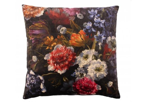 CLAUDI Kissen Bibi Flowers Black