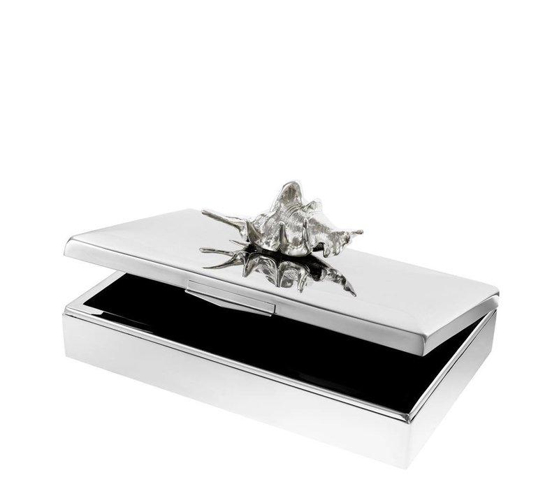 Luxus-Sammeldose 'Rectangular Aloha' 33 cm