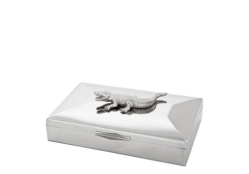 Eichholtz Luxury Box 'Rectangular Croc'