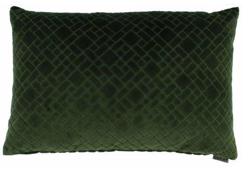 CLAUDI Cushion Assane Green