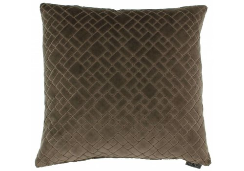 CLAUDI Cushion Assane Brown